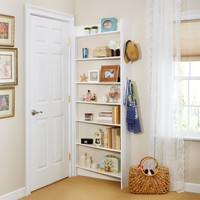 Foremost Heidi Bookshelf - White | www.hayneedle.com