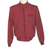 Members Only Vintage 1980s Wine Hue Jacket Coat