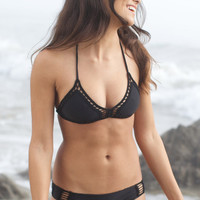 The Girl and The Water - ACACIA Swimwear 2014 - Andy Bikini Top / Storm - $110