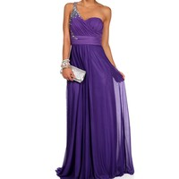 Pre-Order: Mori-Bright Lilac Prom Dress