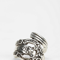 Silver Spoon Ring - Urban Outfitters