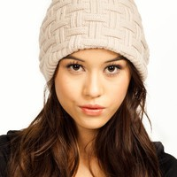 Be-Weave It Long Beanie