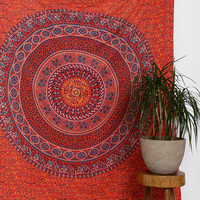 Magical Thinking Red Medallion Tapestry - Urban Outfitters