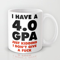 4.0 GPA Mug by LookHUMAN