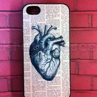 iPhone 5c case, iPhone 5c Case, Anatomy Heart Dictionary Art iPhone 5c Cover, iPhone 5c Cases, iPhone 5c Case, Cute iPhone 5c Case