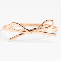 kate spade new york 'skinny mini' bow bangle