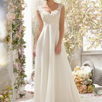 Voyage by Mori Lee 6778 Chiffon Wedding Dress