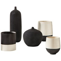 Threshold™ Black and White Vase Collection