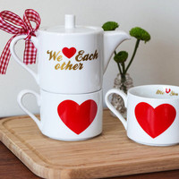 Sweetly Sipping Tea Set | Mod Retro Vintage Kitchen | ModCloth.com