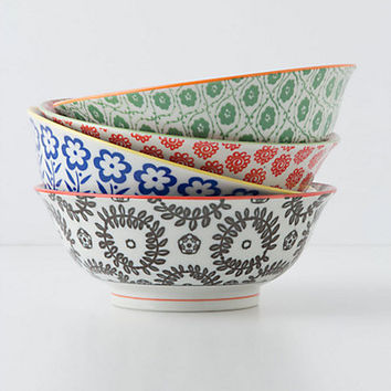 Atom Art Serving Bowls