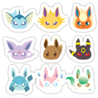 Eevee Evolutions iPhone Cases & Skins
