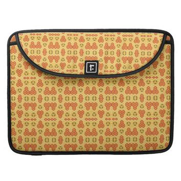 Fun Geometric Orange and Yellow