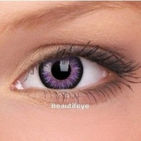 Buy ColourVUE Violet Glamour Contact Lenses (90 Day) Violet, from ColourVUE for £14.99