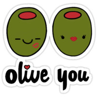 Olive You  T-Shirts & Hoodies