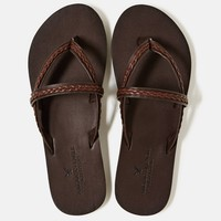 AEO Braided Leather Flip-Flop