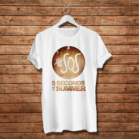 5Seconds of Summer T-Shirt, 5SOS Pop Music Women T-Shirt (Available Various Color)