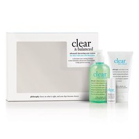philosophy 'clear & balanced' kit ($77 Value) | Nordstrom