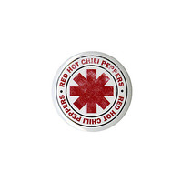 Red Hot Chili Peppers Logo Pin