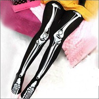 Skeleton Tights :: VampireFreaks Store :: Gothic Clothing, Cyber-goth, punk, metal, alternative, rave, freak fashions