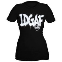 Breathe Carolina IDGAF Girls T-Shirt