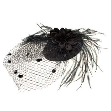 ModCloth A Modern Fascinator in Noir