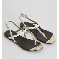 Lovely Braided Sandal-White