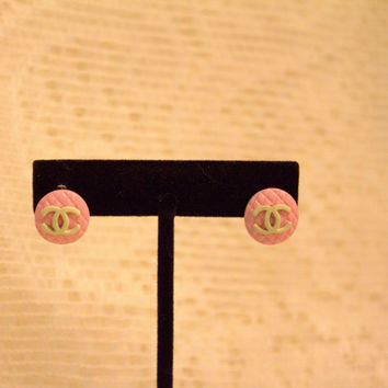 Chanel Post Earrings