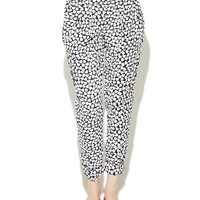Heart Printed Soft Pant | Wet Seal