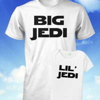 Father and Son Shirt Set Star Wars Shirt Jedi Shirt Fathers Day Gift Dad Baby XL