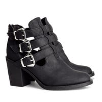 H&M - Boots - Black - Ladies