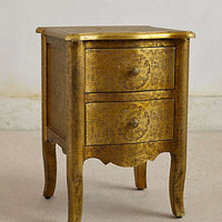 Hand-Embossed Nightstand