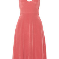 Tibi Silk-satin dress – 50% at THE OUTNET.COM