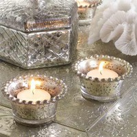 Beaded Tea Light Holders, Candle Holders | Graham and Green Home Accessories