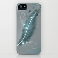 The magic feather iPhone & iPod Case by LouJah