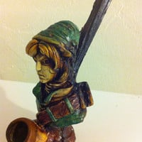 Tobacco Hand Made Pipe, Legend of Zelda Link Design