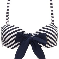 Striped Balcony Bikini Sete Top | Heidi Klein | Avenue32