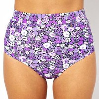 All About Eve Ditsy Floral High Waist Bikini Bottom