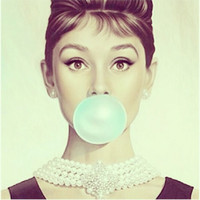 Audrey H Art Print by LuxuryLivingNYC