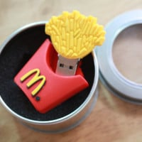 SALE30-70%OFF: 4GB Usb a mcdonalds fries Flash Drive 4Gb , Cute Usb Flash Drive , Accessories , usb, mcdonalds french fries