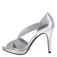 Women's Icicle Glitter Pump
