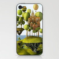 City in the Sky Phone Skin - Print Shop