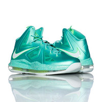 LEBRON X SNEAKER - Medium Green - NIKE