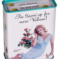 VALIUM TIN COIN BANK