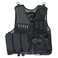 Drago Gear Fast Draw Tactical Vest Black