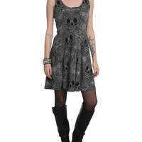 Day Of The Dead Skulls Dress