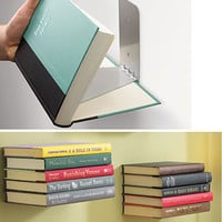 Large Floating Books Wall Shelf - PLASTICLAND