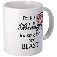 Beauty Looking for Beast Mug Mug by CafePress