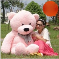 1.2m 47'' Pink Giant Huge Big New Arrival Plush Teddy Bear Stuffed Animal Plush Soft Teddy Bear Toy