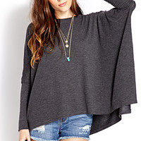 Draped Knit Top