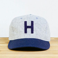 Huckberry Explorer's Caps | Explorer's Cap (Grey/Navy)
